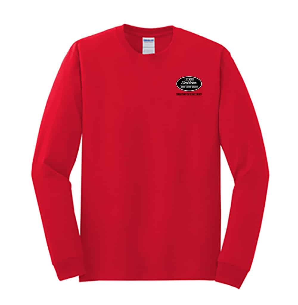 Sport_GreGrey Licensed Electrician Long Sleeve