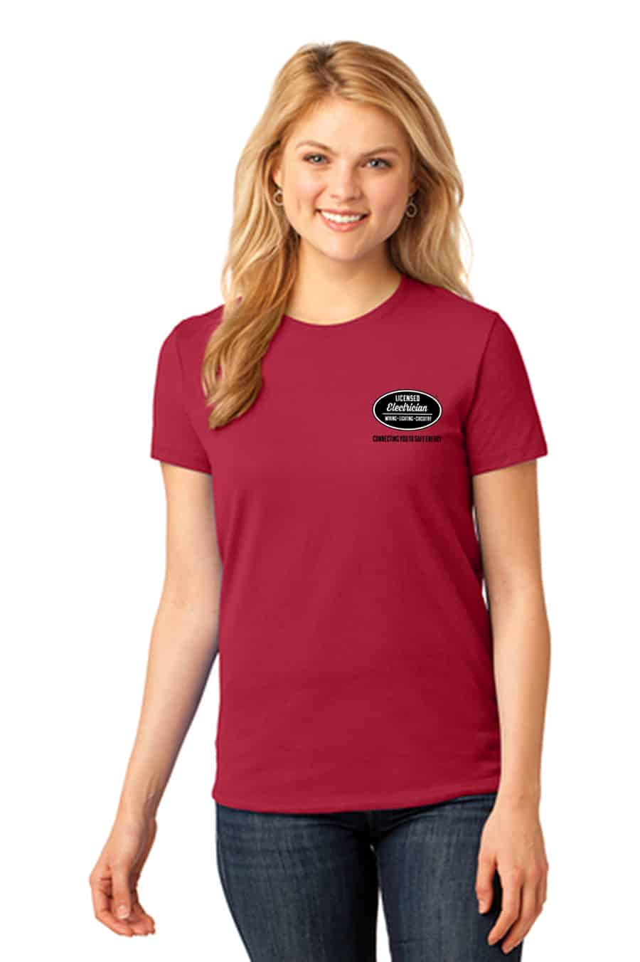 Women's Licensed Electrician T-Shirt
